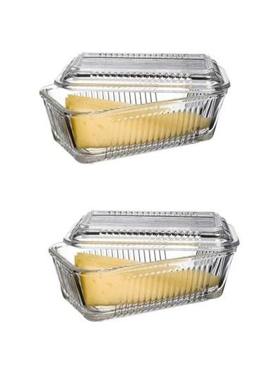 Paşabahçe Frigo Kapaklı Kahvaltılık - Tereyağlık Peynirlik 2 Li Renkli